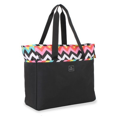 french-west-indies-2335992307-18-les-plages-chevron-weekender-toteblack-by-group-iii-international-i