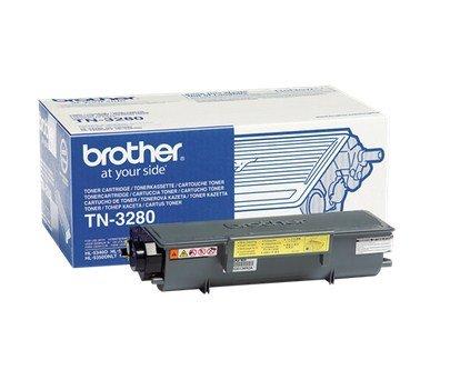 Preisvergleich Produktbild Brother TN Toner Tonerkassette für Laserdrucker (8000Seiten, Laser, Brother, 1,4kg, 360x 195x 150mm, 8000Seiten) nicht