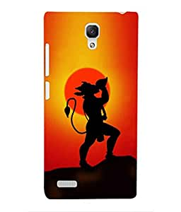 For Xiaomi Redmi Note -Livingfill- Balwan Hanuman Printed Designer Slim Light Weight Cover Case For Xiaomi Redmi Note (A Beautiful One of the Best Design with a Classic Theme & A Stylish, Trendy and Premium Appeal/Quality) (Red & Green & Black & Yellow & Other)