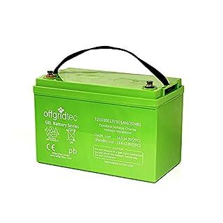 Offgridtec® 100Ah C20 GEL Akku 12V Solarakku Batterie