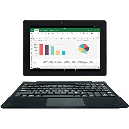 tablet con tastiera staccabile [2 oggetto bonus] Simbans TangoTab Tablet 10 pollici con tastiera 2-in-1 laptop | Android 8.1 Oreo