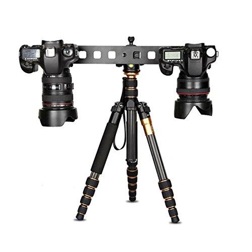 Werse Verlängern Platte Double Head Universal Stativ Einbeinstativ Schnellwechselplatte Mini Slide Für Canon Nikon (Belichtungsmesser, Nikon)