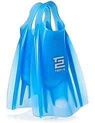 Hydro Bodyboard Fins - Hydro Tech 2 Ice Blue Bodyboard Fins - Medium/Large