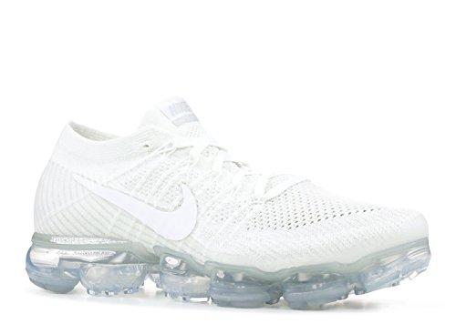 Nike Air Vapormax Flyknit 'Triple White' - 849558-100 -