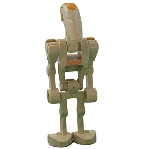 LEGO Star Wars - Minifigur Battle Droid Commander mit Markierung an Kopf und Torso