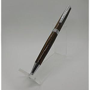 Handgedrechselter Drehkugelschreiber aus Bocote, Modell