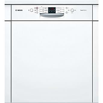 Bosch SMI63M52EU Semi intégré 13places A++ lave-vaisselle - lave-vaisselles (Semi intégré, Blanc, boutons, 1,75 m, 165 m, 190 m)
