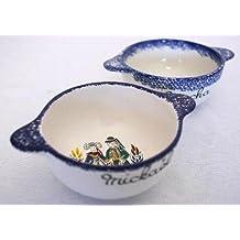 Ceramiques de cornouaille - Bol breton traditionnel personnalisable - Personnage fabriqué à Quimper