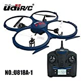 RC QUADRICOTTERO - DRONE UDIRC U818A-1 DISCOVERY HD UPGRADE