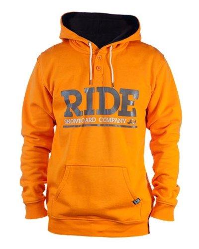 Ride Logo an, Hoodie Orange