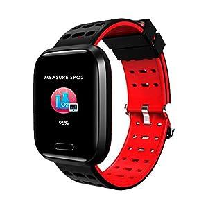 1,3-Zoll-Vollfarb-Bildschirm Blutdruck-Herzfrequenz-Messgerät Smart Watch Bracelet A8 Vollbild Flex Screen Smart Armband Smart Watch
