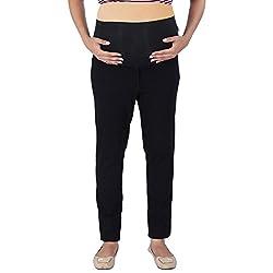 Momtobe Maternity Denim Black (Size : X-Large)