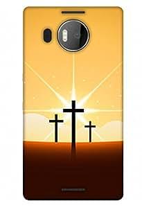 PrintHaat Designer Back Case Cover for Microsoft Lumia 950 XL :: Microsoft Lumia 950 XL Dual SIM
