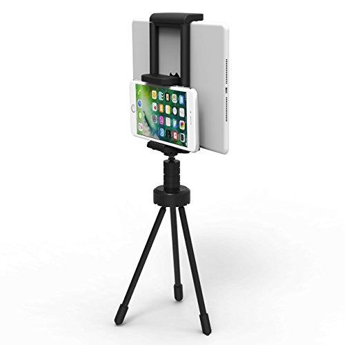 Inateck Table-Top Tischständer Stativ Halterung für Handys, Mobilgeräte, Tablets wie iPad Pro 9.7, iPad Air/ Mini, Galaxy, iPhone 7 plus/ 7/ 6s/ 5, Samsung, Nexus uvm., 150 Gramm leicht, tragbar