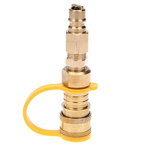 Cathy02 Propan Standard LP Gas Schnellkupplung mit Kugelhahn 3/8
