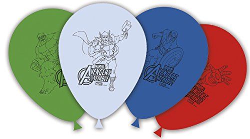 Generique - 8 Avengers Luftballons