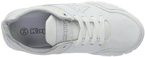 Kappa Unisex-Erwachsene York Low-Top Weiß (1010 white)