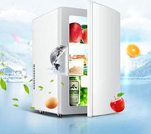 BTHDPP Mini-kühlschränke, Tragbarer Auto Kühlschrank 18L Auto Dual-Use Elektronische Heizung Und Kühlbox College Schlafsaal Mini Kühlschrank