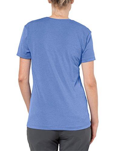 Jack Wolfskin Damen Crosstrail T Women Leicht Atmungsaktiv Funktions Shirt Funktionsshirt, Flamingo, S Pale Purple
