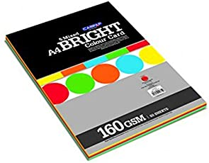 Campap Bright Color Card Paper (Pack 50 sheets)