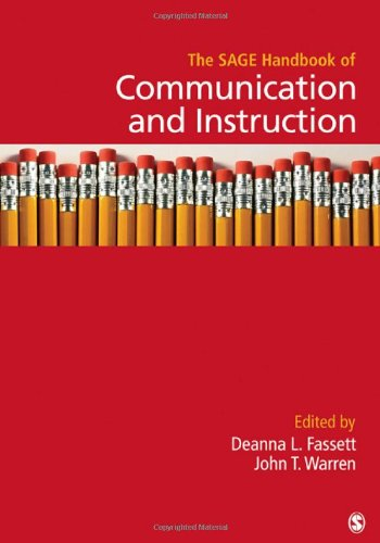 The SAGE Handbook of Communication and Instruction (Sage Handbooks) (Wort Sage Das)