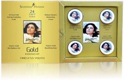 fd11591fb Shahnaz Husain Eclat d'or de la peau et du visage diamant Combo Kit 80 g  (Set de 8)