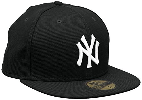 new-era-major-league-baseball-cap-ny-new-york-yankees-59fifty-basic-black-white