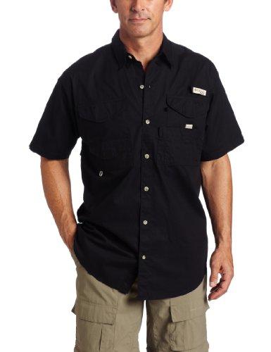 Columbia Herren Bonehead Short Sleeve Angeln Shirt (schwarz, Klein) (Shirt Bonehead Angeln Herren)