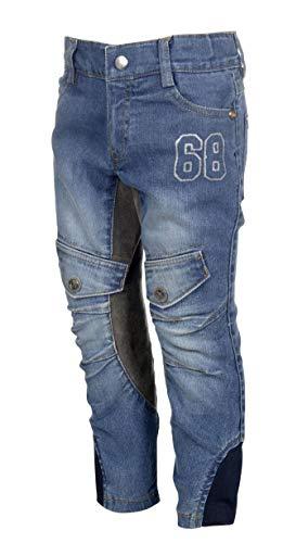 HKM Erwachsene Reithose-San Luis Denim-3/4 Alos Besatz6100 Hose, 6100 Jeansblau, 98