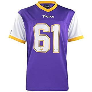 New Era NFL Tri Colour T-Shirt Supporters Collection Tee NFL Jersey Trikot Shirt American Football Streetwear Minnesota Vikings M