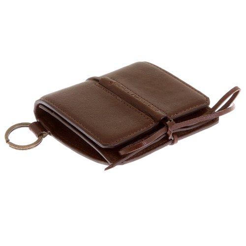 RMC Martin Ksohoh MKWS pelle marrone italiana carte di credito, biglietti da visita e documenti, REDM5727 marrone Taglia unica
