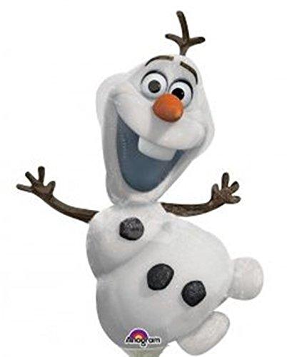 Globo Olaf foil palito