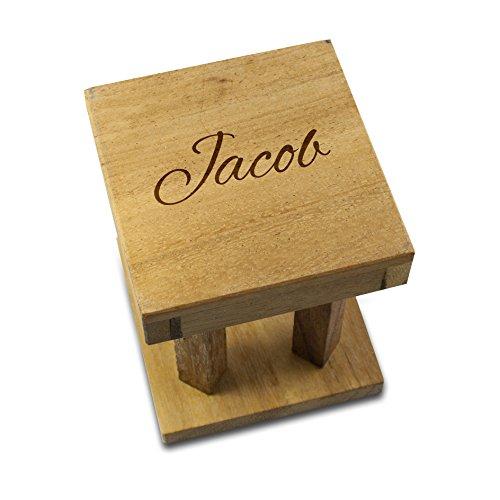 Woods Handicap - Das Golfrätsel –Personalisiert mit [Text] - Knobelspiele aus Holz inkl. Golfball – Lustige Golf Geschenke - Geschenke für Golfer – Golfball Geschenk – Geschenkpackung für Golfbälle - 2