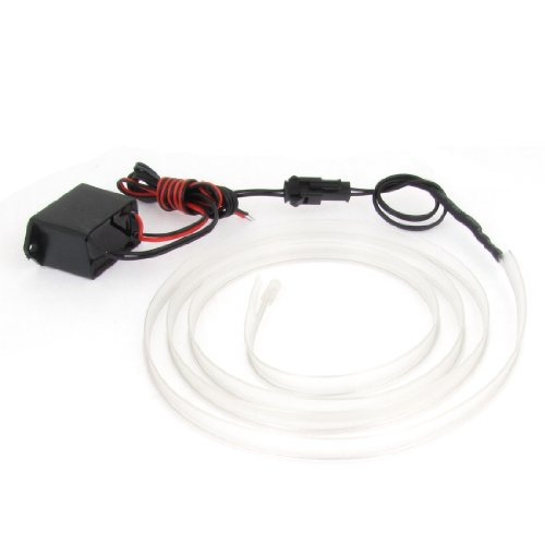 Preisvergleich Produktbild sourcingmap Eisblau 1M nähbar EL Kabel Neon Leuchten Licht Seil Nähen Tag Streifen + Regler