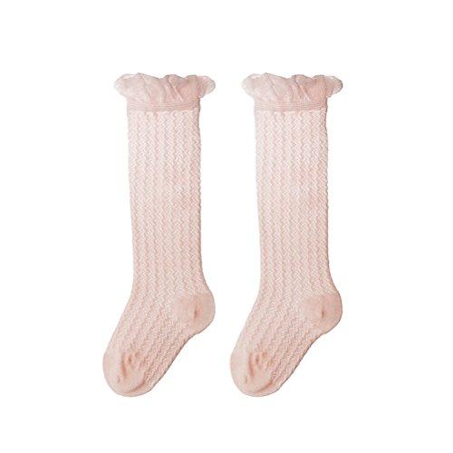 Tinksky Unisex Baby Mädchen Jungen Lange Socken Kniestrümpfe für Sommer