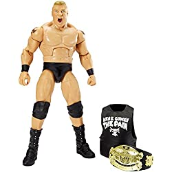 BROCK LESNAR - WWE WRESTLEMANIA 32 ELITE FLASHBACK MATTEL TOY WRESTLING ACTION FIGURE by Wrestling