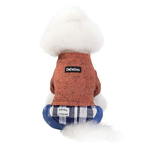Vaquero Kostüm - Cuteelf Funny Hund Katze Jeans Uniform Haustier Kleidung Kostüm Kleid Cosplay für Party canival