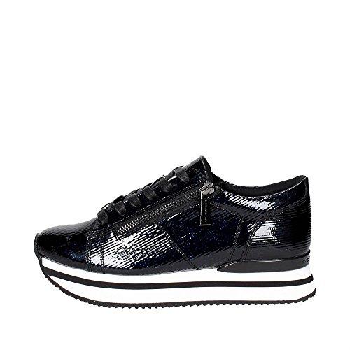 Fornarina pe17ti1001g000 sneakers donna nero/blu 35
