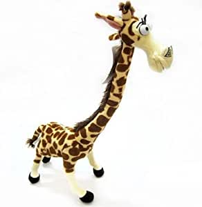 Peluche girafe melman madagascar 3 35cm - Girafe dans madagascar ...