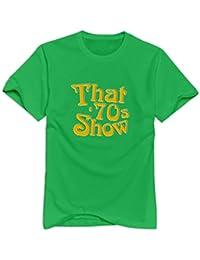 Que '70s show Logo GEEK manga corta T Shirt para adultos