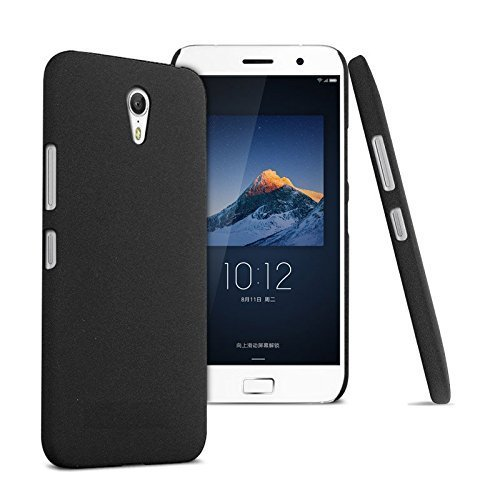 SDO™ Blnvozukz11blk Rubberised Matte Finish Slim Hard Case Back Cover for Lenovo Zuk Z1, (Black)