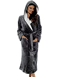 CityComfort Luxury Ladies Dressing Gown Soft Plush Bath Robe for Women  Housecoat Loungewear Bathrobe c26f65af3
