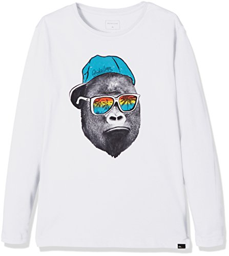 quiksilver-ls-classic-tee-youth-kong-business-t-shirt-garcon-blanc-fr-12-ans-taille-fabricant-m-12