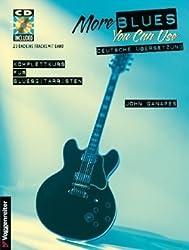 More Blues you can use. Mit CD: Noten und Tabulator. Rhytmus-Techniken. Solo-Techniken. Bendings. Akkordsubstitution u.v.m von Ganapes, John (2000) Musiknoten