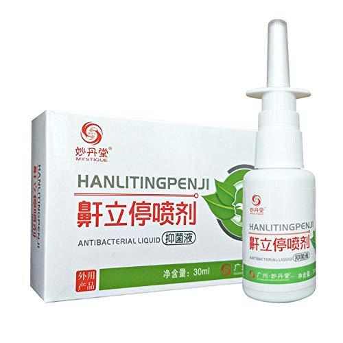 FOONEE Schnarch-Lösung, Stop Schnarchen Nasenspray Schnarch-Lösungen Anti Schnarchen Stop Relief Oral Spray, 30ml
