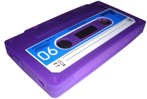 Xcessor retro cassetta custodia in silicone per Apple iPhone 4/4S