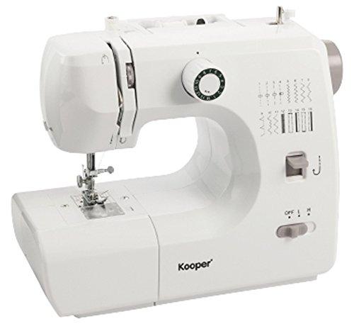 Kooper 2419073Nähmaschine, Plastic, Weiß