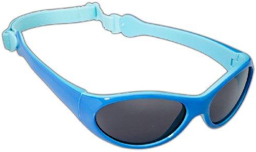 Dice Kinder Sonnenbrille Shiny Light Blue/Navy