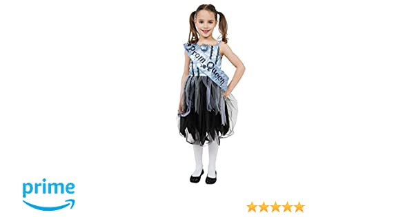 Bristol Novelty CC638 Bloody Prom Queen Costume (Small), Approx Age 3 -5 Years, Bristol Novelty Bloody Prom Queen (S): Amazon.co.uk: Toys & Games