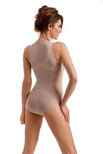 Envie Damen Shapewear Body Figurformend Naturale